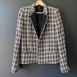 Haider Ackermann Tweed plaid Blazer Jacket